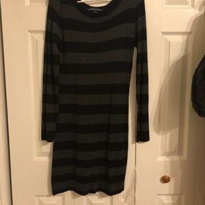 French Connection striped sweater dress, size 8